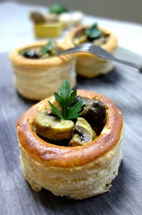 Vol au-vent escargots