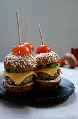 Burger de champignons