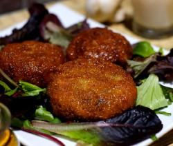 Croustillants de champignons mozzarelle et basilic